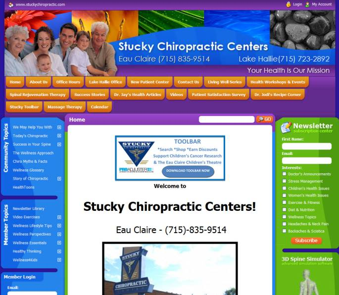 Stucky Chiropractic Webshot1